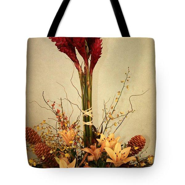 Heart Of Love Tote Bag by Sharon Mau