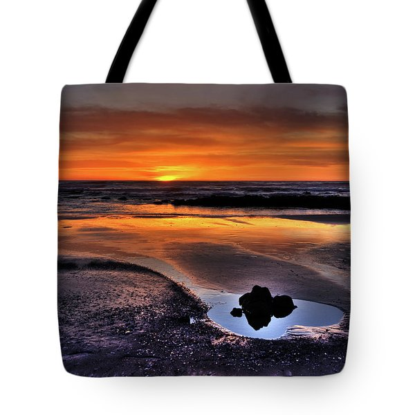 Heart Of The Central Coast Tote Bag