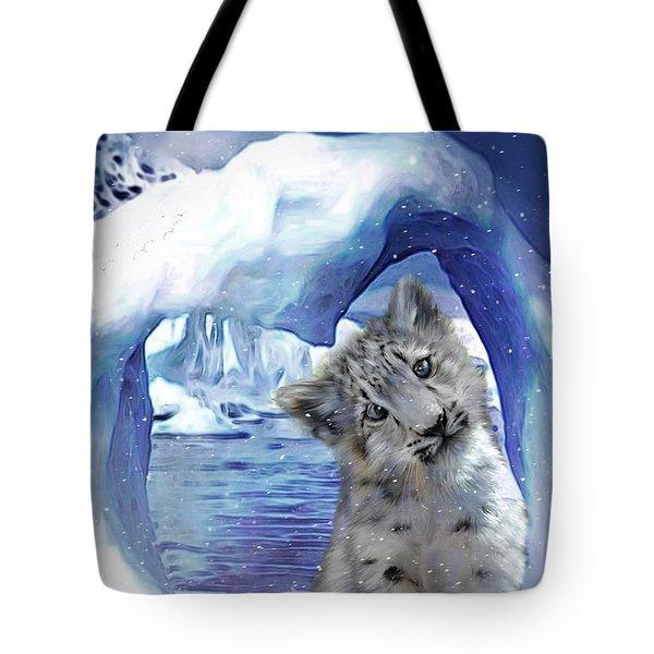 Heart Warmer Card Tote Bag by Carol Cavalaris