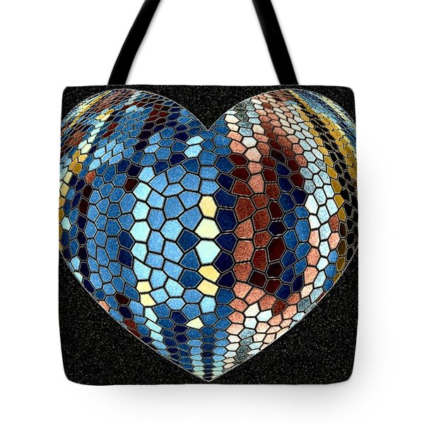 Heartline 4 Tote Bag by Will Borden