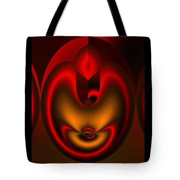 Tote Bag featuring the digital art Hearts Desire by Vicki Pelham