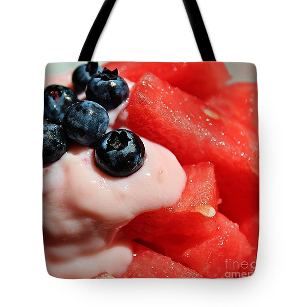 Heat Quencher Tote Bag by Barbara Griffin