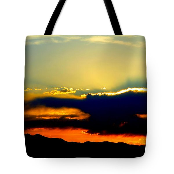 Heaven Is Watching Tote Bag by Jeanette C Landstrom