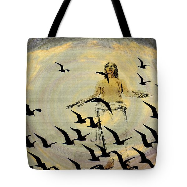 Heaven Sent Tote Bag by Bill Cannon