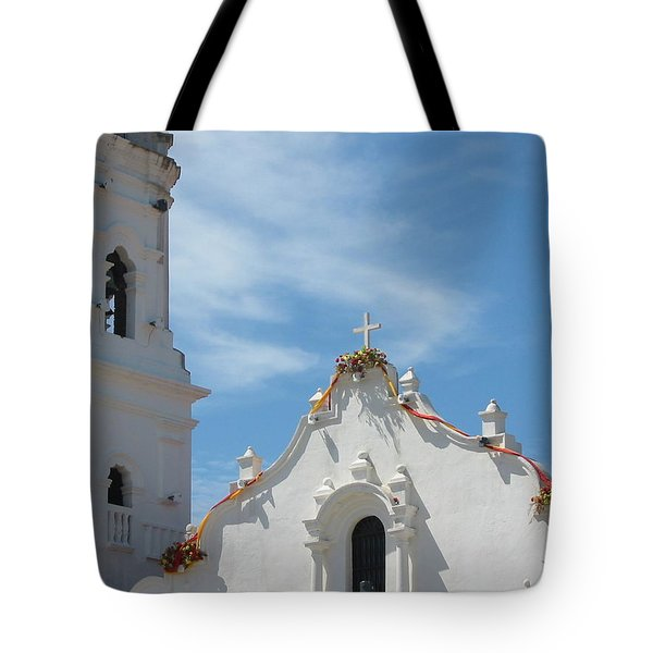 Heavenly Roofline Tote Bag