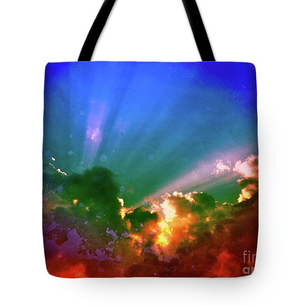 Heaven's Jewels Tote Bag by Kevyn Bashore