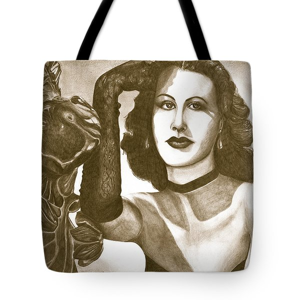 Heddy Lamar Tote Bag