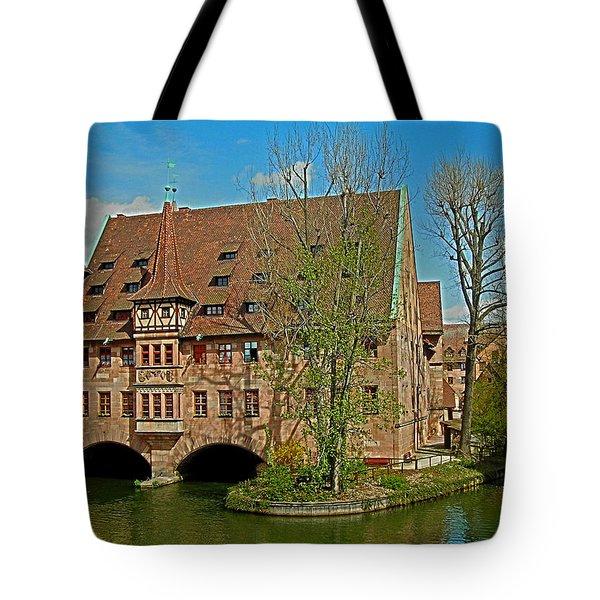 Heilig-geist-spital In Nuremberg Tote Bag