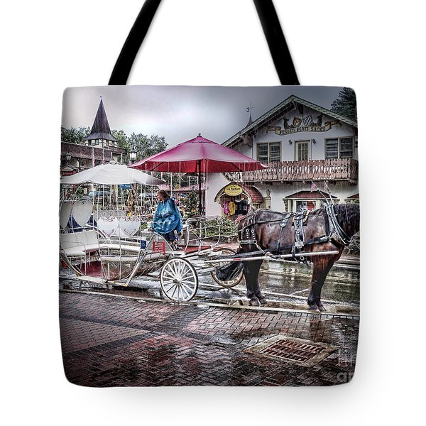 Helen Georgia Rain Tote Bag