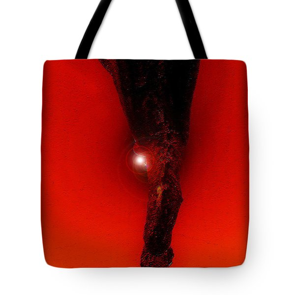 Hell Fall Tote Bag by David Lee Thompson
