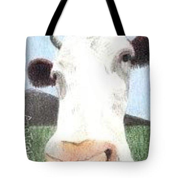 Hello Cow Tote Bag