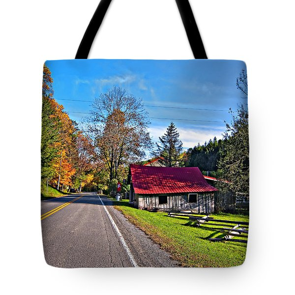 Helvetia Wv Tote Bag by Steve Harrington