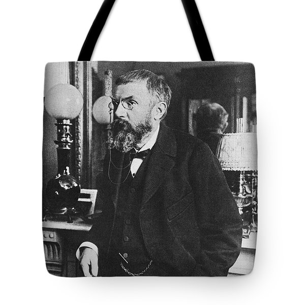 Henri Poincare, French Polymath Tote Bag by Science Source