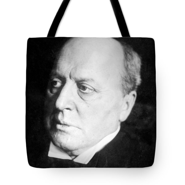 Henry James, American-born British Tote Bag by Photo Researchers