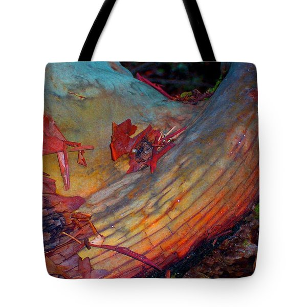 Tote Bag featuring the digital art Here And Now by Richard Laeton