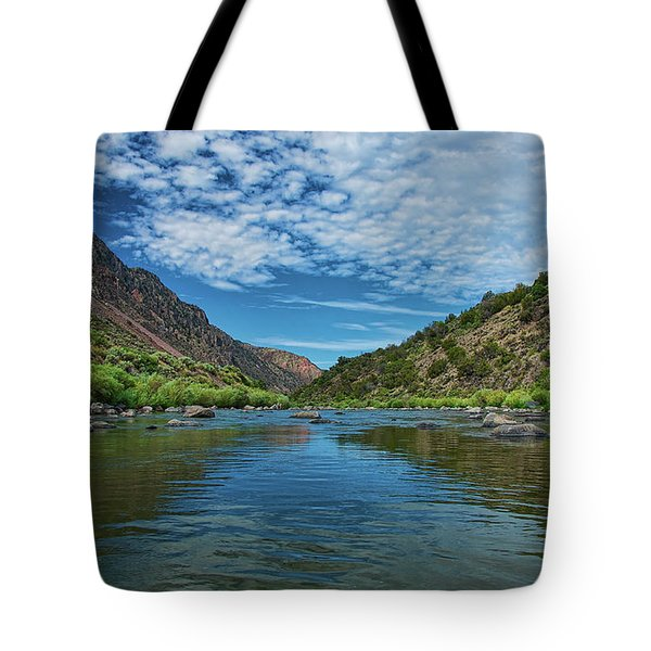 Tote Bag featuring the photograph Herring Bone View by Britt Runyon