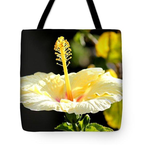 Hibiscus Rising Tote Bag
