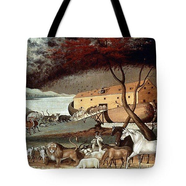 Hicks: Noahs Ark, 1846 Tote Bag by Granger