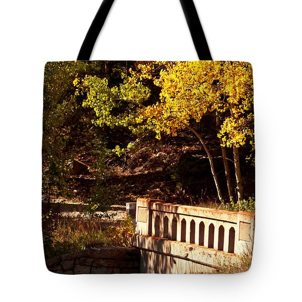 Hidden Bridge Tote Bag
