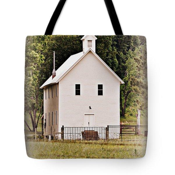 Hidden Church Tote Bag by Marty Koch