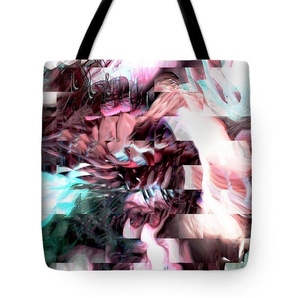 Hidden Dimensions Tote Bag by Linda Sannuti