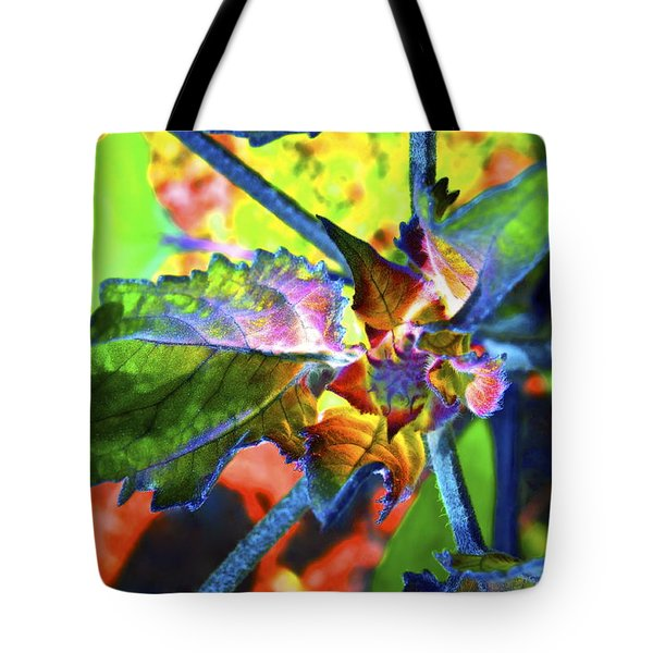 Hidden In Color Tote Bag by Gwyn Newcombe