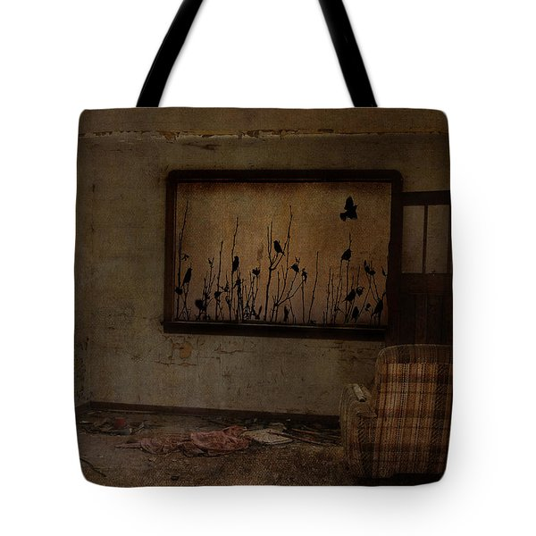 Hidden Smiles Of Birds  Tote Bag by Empty Wall