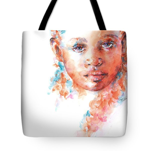 Hidden Tears Tote Bag by Stephie Butler