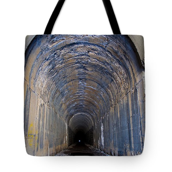 Hidden Tunnel Tote Bag