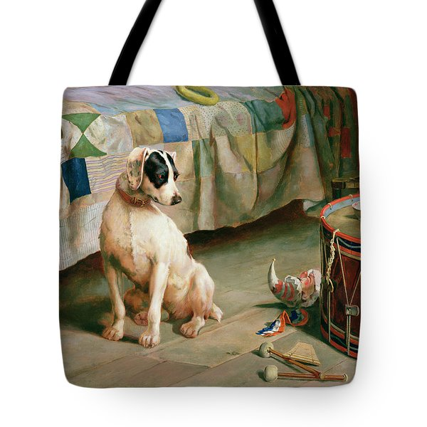 Hide And Seek Tote Bag by Arthur Charles Dodd