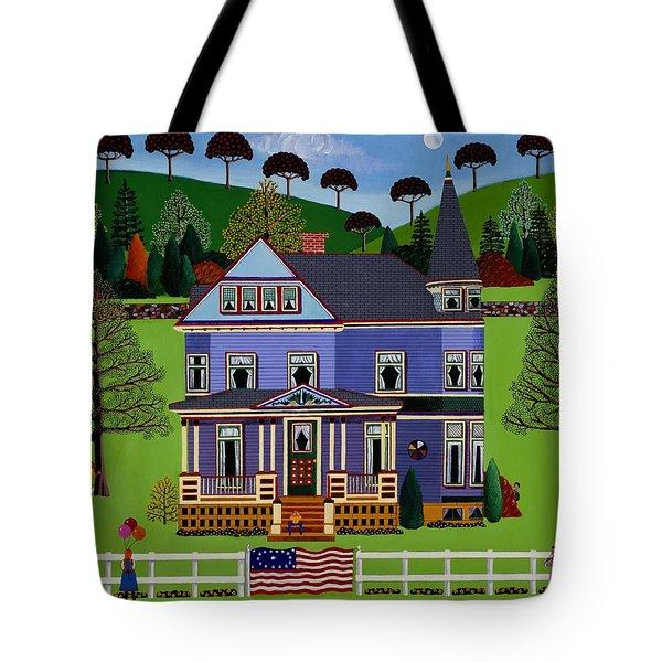 Hide And Seek Tote Bag by Susan Henke