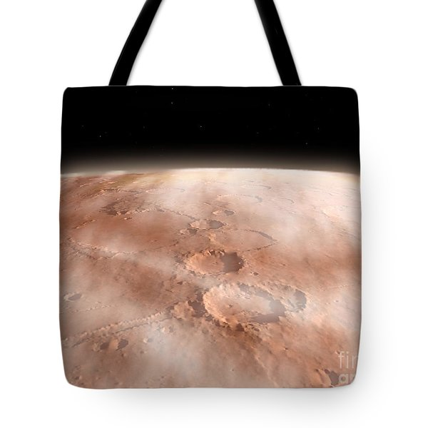 High Altitude Clouds Of Water Ice Tote Bag by Walter Myers