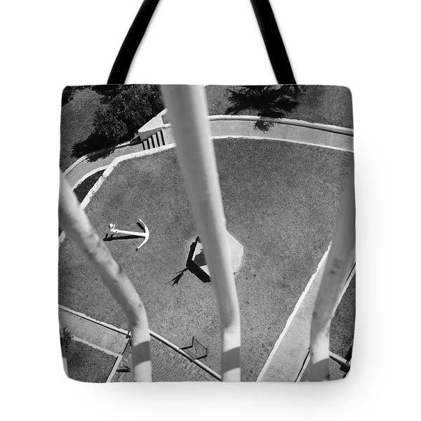 High And Dry Tote Bag by Luke Moore