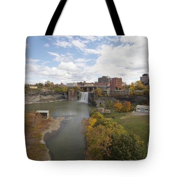 Tote Bag featuring the photograph High Falls by William Norton