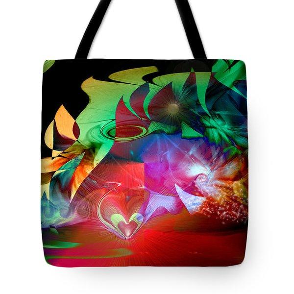 High Hopes Tote Bag by Linda Sannuti