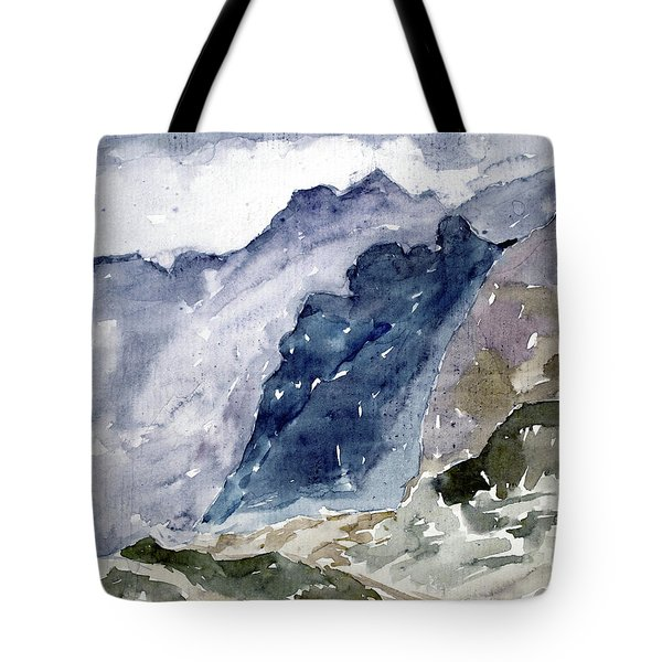 High Mountains Tote Bag
