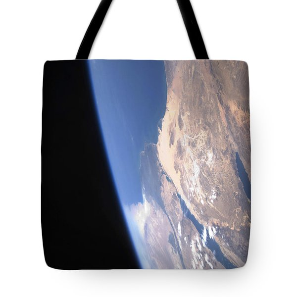 High Oblique Scene Looking Tote Bag by Stocktrek Images