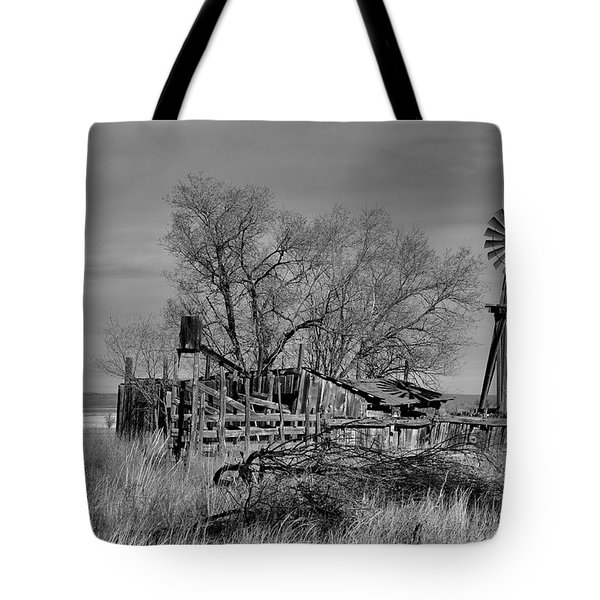 Tote Bag featuring the photograph High Plains Wind by Ron Cline