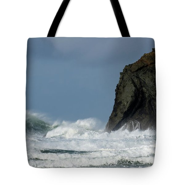 High Surf Tote Bag by Bob Christopher
