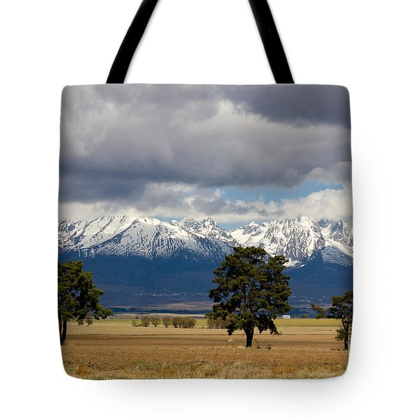 Tote Bag featuring the photograph High Tatras - Vysoke Tatry by Les Palenik