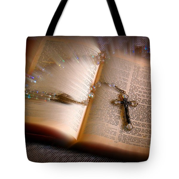 Tote Bag featuring the photograph Higher Power by Donna Bentley