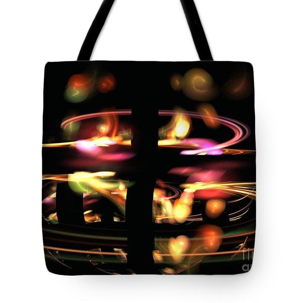 Highway Lights Tote Bag by Kim Sy Ok
