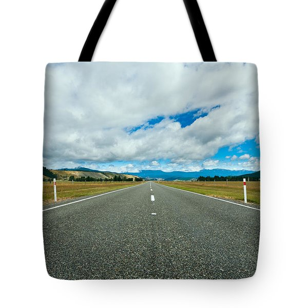 Highway Through The Countryside  Tote Bag by Ulrich Schade