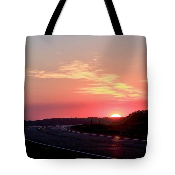 Highway To The Sky Tote Bag