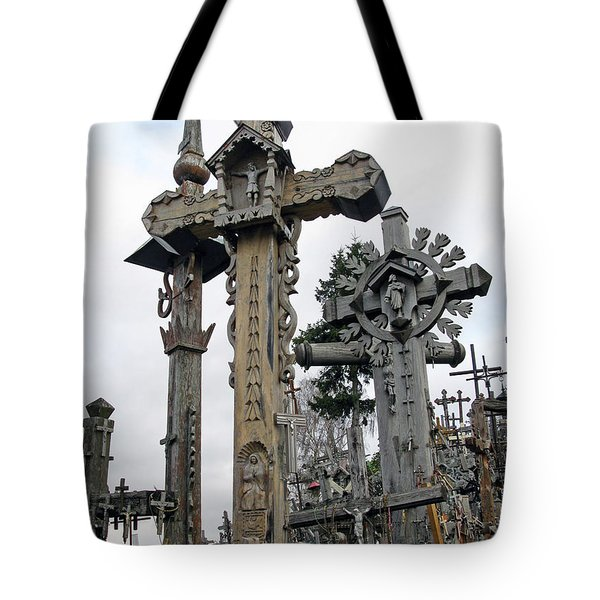 Hill Of Crosses 09. Lithuania Tote Bag