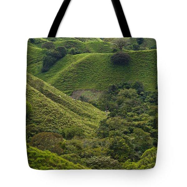 Hills Of Caizan 2 Tote Bag by Heiko Koehrer-Wagner