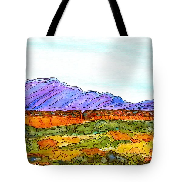 Hills That Nourish Tote Bag