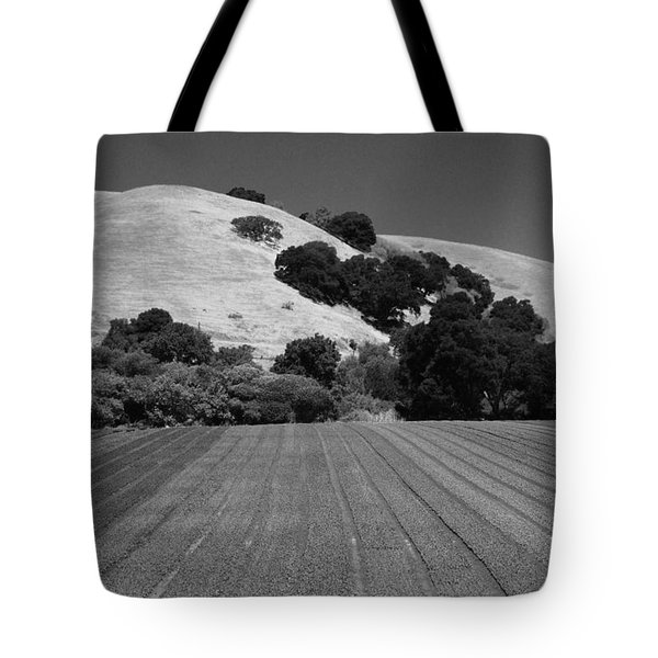 Tote Bag featuring the photograph Hillside Farmland by Kathleen Grace
