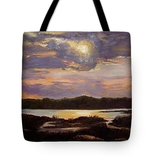 Hilton Head Sunset Tote Bag