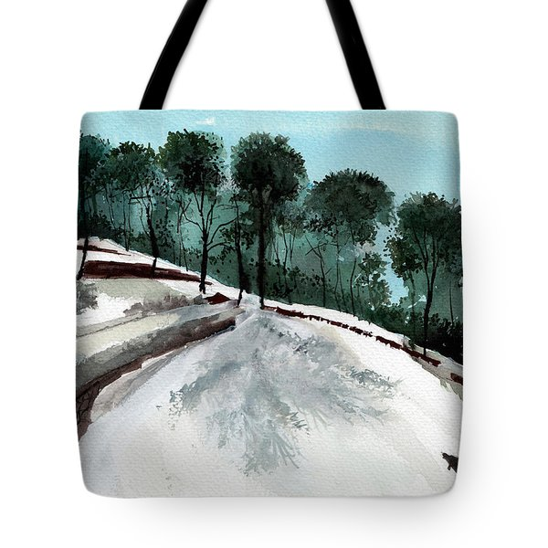 Himalaya 2 Tote Bag by Anil Nene